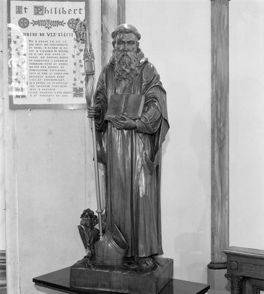 Statue : saint Philibert