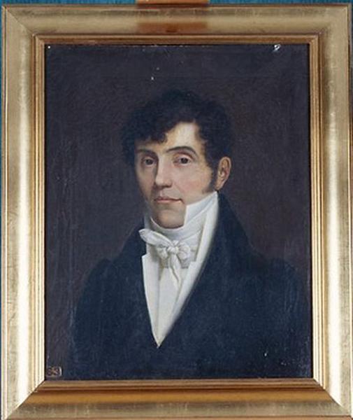 Tableau : Portrait d'un bourgeois de l'époque de la restauration