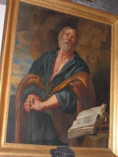 Tableau : Saint Pierre pénitent
