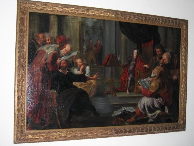 Tableau : Le Christ parmi les docteurs