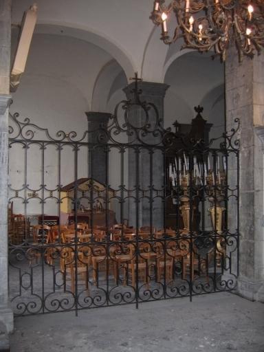 Clôture de choeur