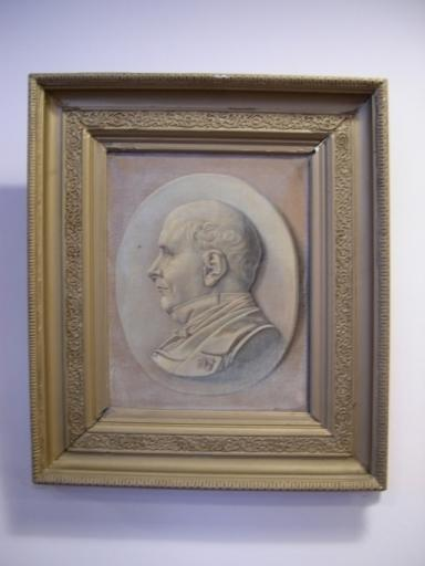 Tableau (médaillon) : Portrait d'Elie Defrance