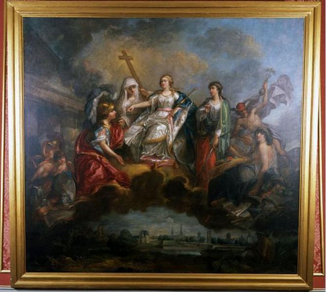 Tableau : La France recevant l'hommage des Etats du Hainaut