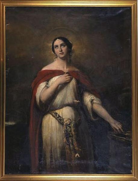 Tableau : Sainte Cécile