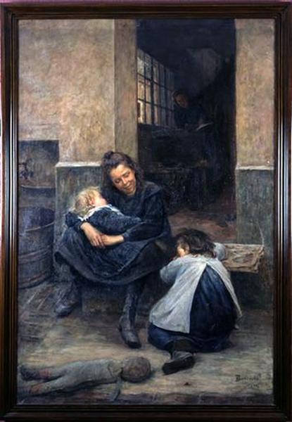 Tableau : La Petite Maman