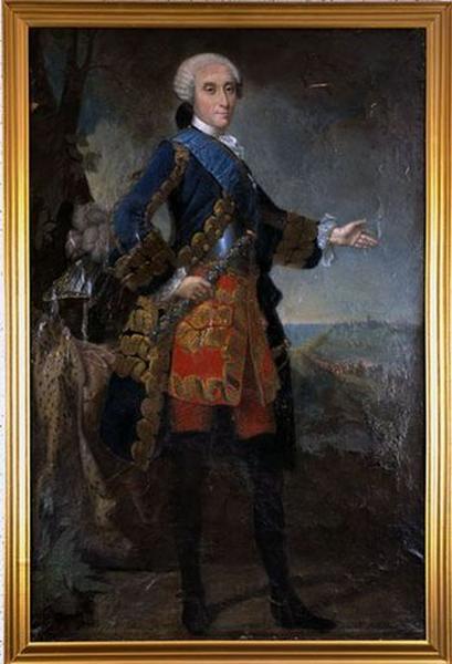 Tableau : Portrait en pied du duc Emmanuel de Croy