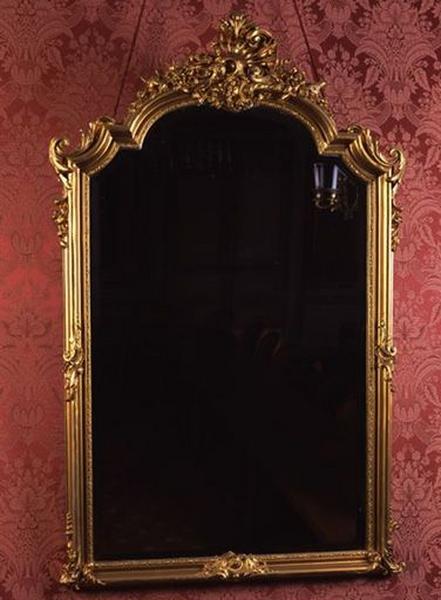 Miroir d'applique de style rocaille