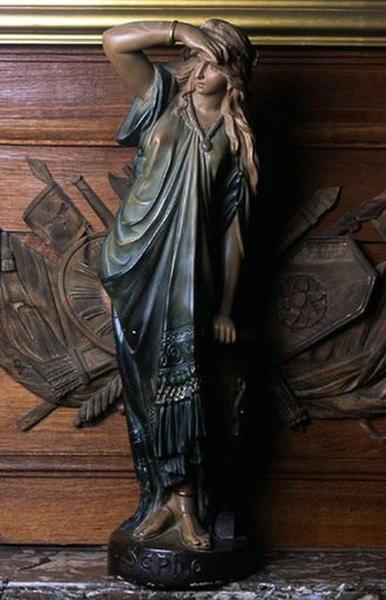 Statue (statuette) : Sapho