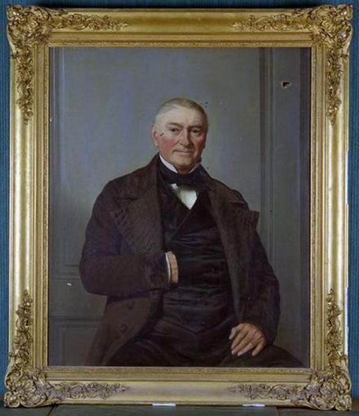 Tableau : Portrait d'homme assis