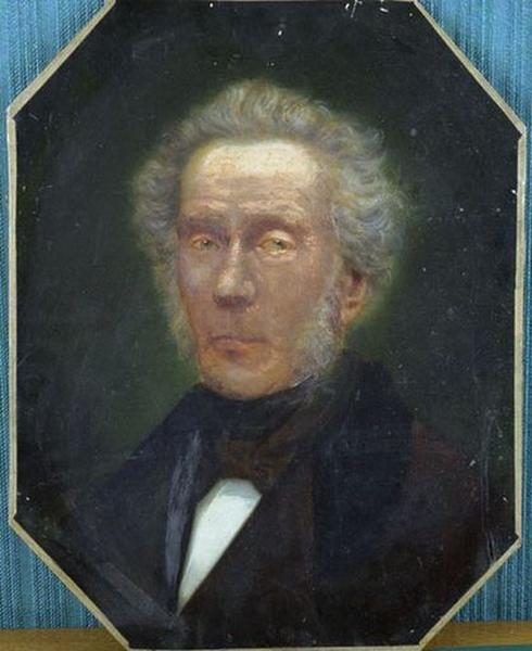 Tableau : Portrait de Régis Langlet