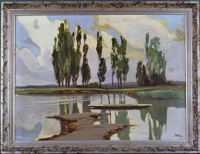 Tableau : Marais de Biguglia