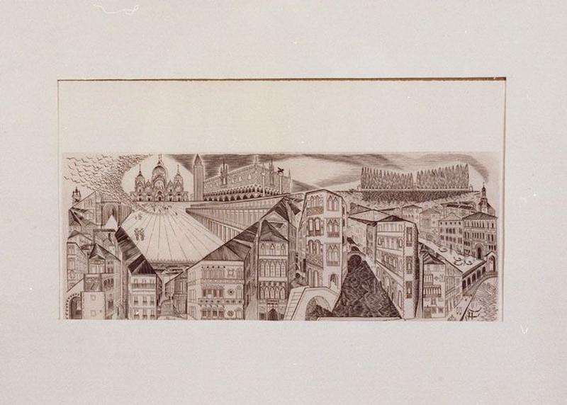 Estampe : Venise