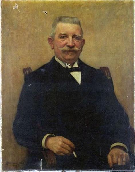 Tableau : Portrait d'homme à la cigarette