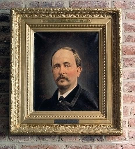 Tableau : Portrait d'Henri Joseph Hon Hon