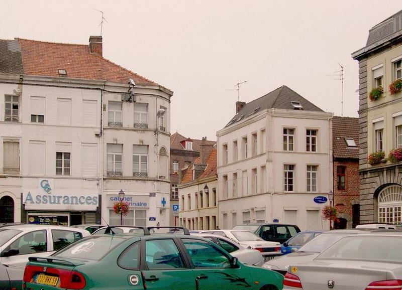 Place d'Armes, actuellement place Pierre-Delcourt