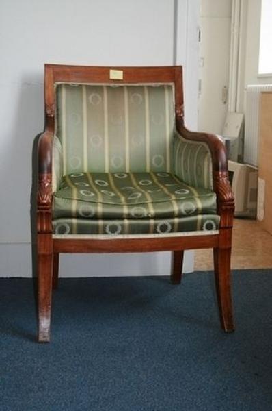 Deux fauteuils (bergères)