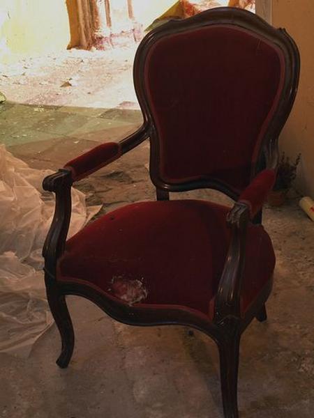 Ensemble de 2 fauteuils de célébrant
