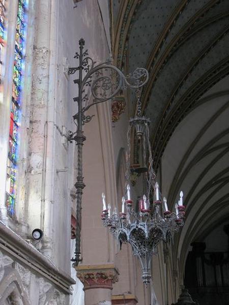Ensemble de 2 luminaires d'applique d'église