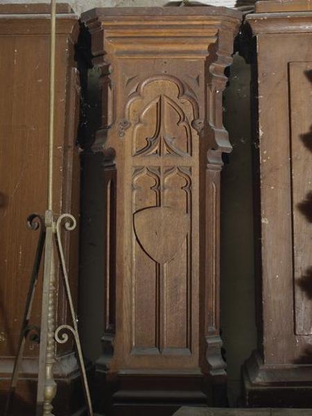 Présentation du mobilier de l'église du Saint-Sépulcre