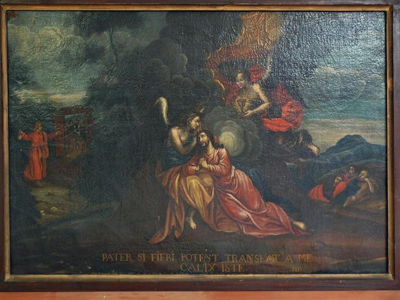 Tableau : Jésus au Jardin des oliviers