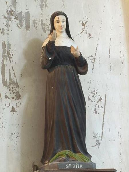 Statue : sainte Rita