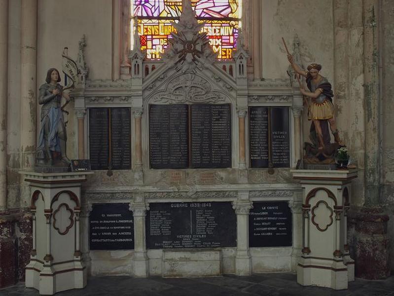 Monument aux morts des deux guerres mondiales