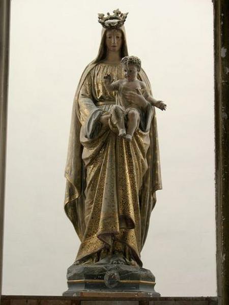 Statue (figure colossale) : Vierge à l'Enfant