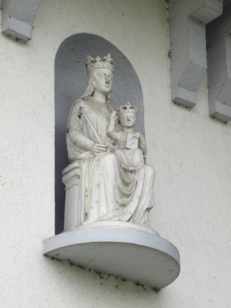Statue : Vierge à l'Enfant, dite Notre-Dame des Miracles