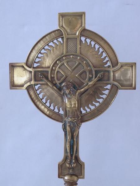 Croix d'autel (No 1 de la sacristie nord)