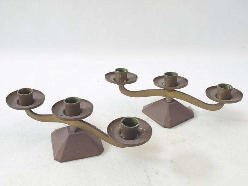 Ensemble de 10 chandeliers