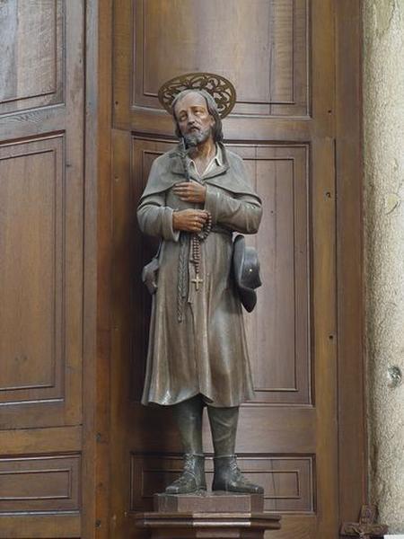 Statue : saint Benoît Labre