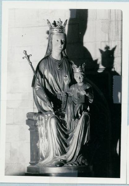 Statue : Vierge à l'Enfant (réplique de la statue de Notre-Dame des Miracles)