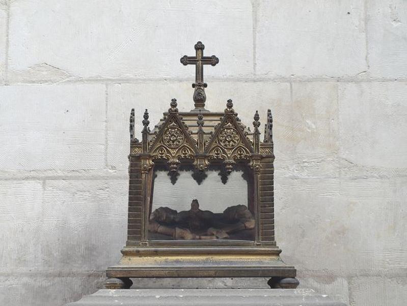 Reliquaire de saint Erkembode