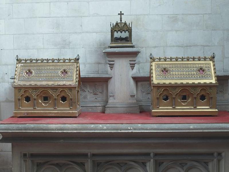 Ensemble de 2 châsses-reliquaires (No 2)