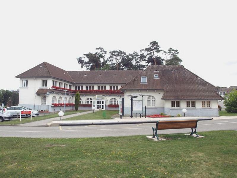 Centre hospitalier de la région de Saint-Omer ; chapelle Sainte-Barbe