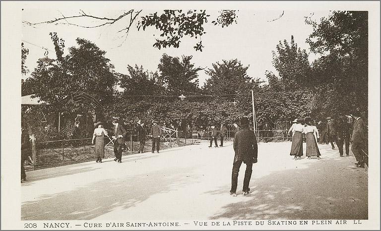 Parc de la Cure d'Air Saint-Antoine, puis verger du couvent de visitandines Sainte-Marie, actuellement jardin public de la Cure d'Air