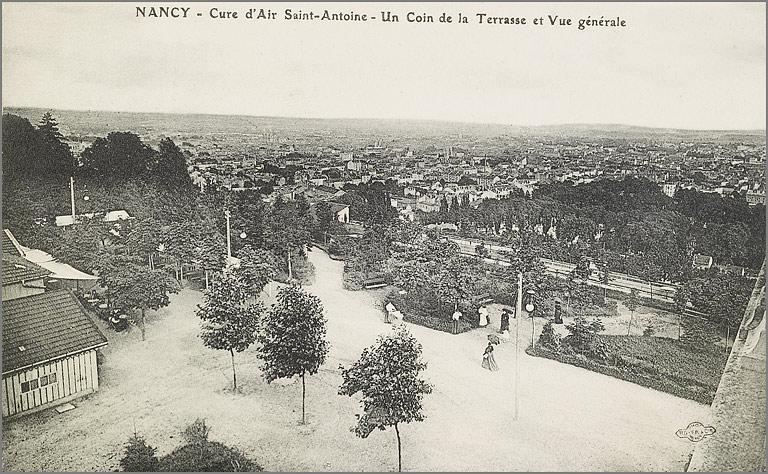 Édifice hospitalier dit maison de convalescence Cure d'Air Saint-Antoine puis couvent de visitandines Sainte-Marie, actuellement école d'art de Condé