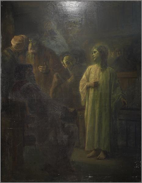 tableau : Jésus et les Docteurs
