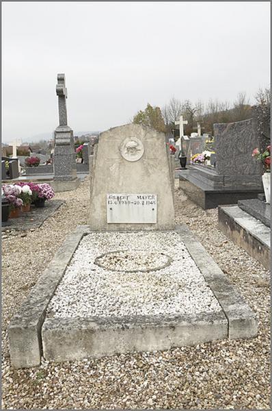 tombeau de la famille Mayer