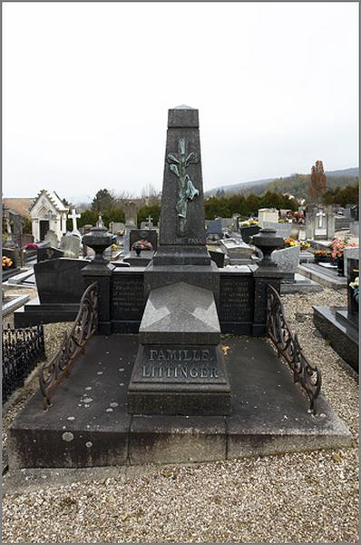 tombeau de la famille Littinger