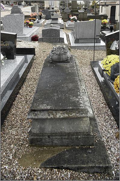 tombeau de la famille Collin