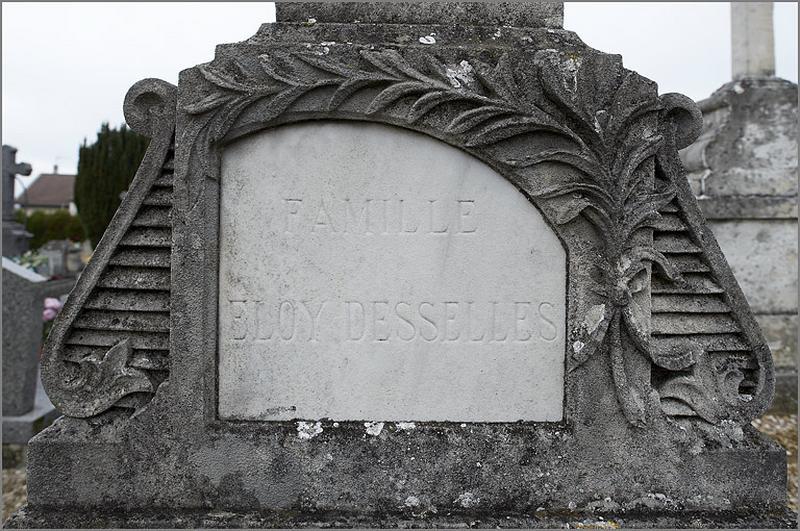 Tombeau de la famille Eloy-Desselles