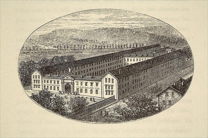Lycée impérial, actuellement lycée Raymond Poincaré