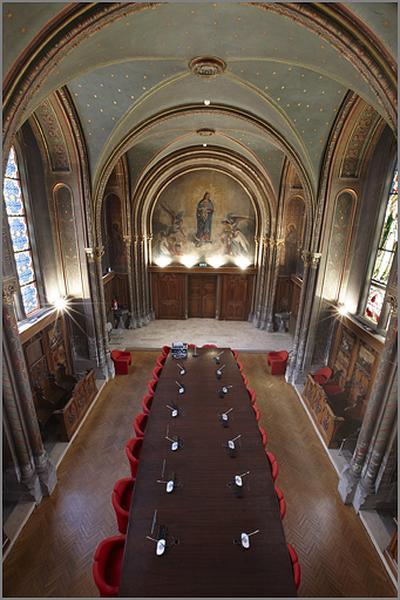 chapelle de la Congrégation du collège de jésuites Saint-Clément actuellement salle de réunion dite salle de la chapelle