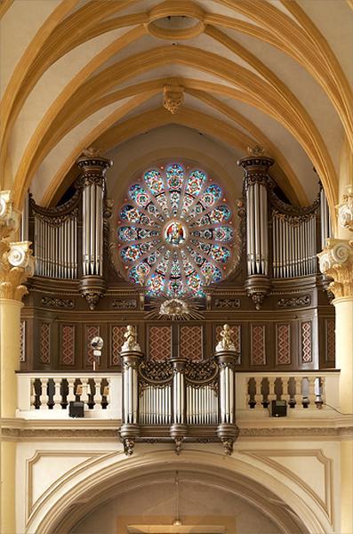 Tribune et orgue