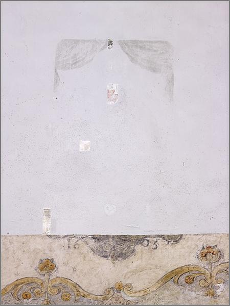 Ensemble de 4 peintures murales et d'1 peinture sur toile