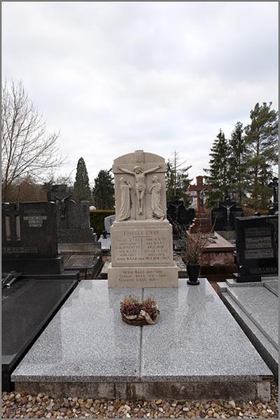 tombeau de la famille Kaas