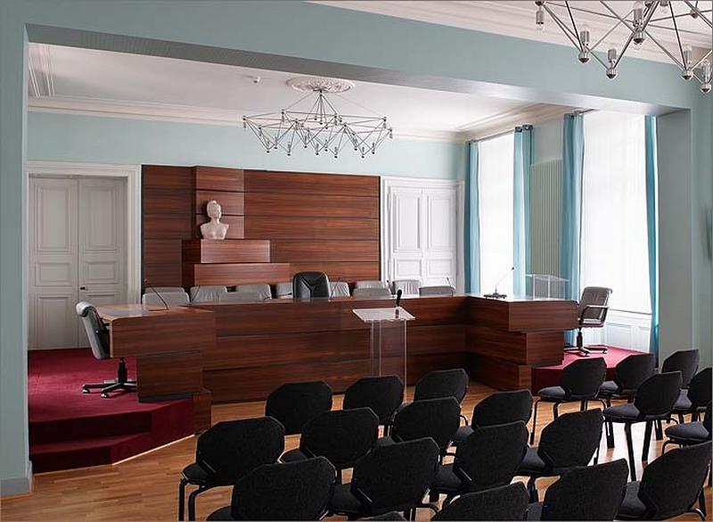 Le mobilier de l'hôtel de Vitrimont puis de Fontenoy actuellement tribunal administratif d'appel