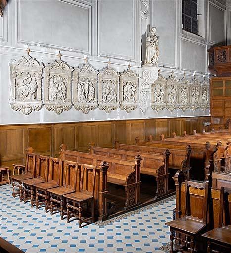 Le mobilier de l'église Sainte-Elisabeth