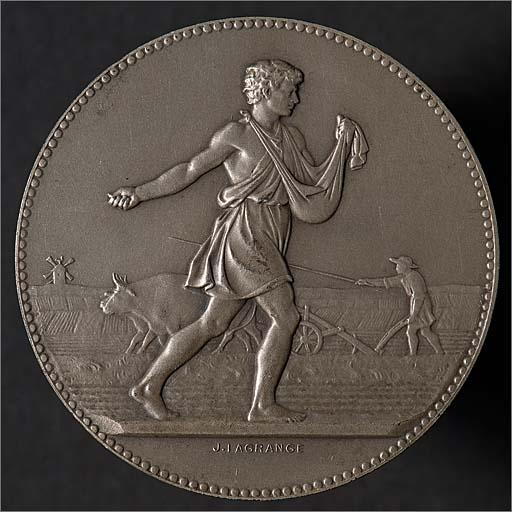 Médaille de la foire agricole de Strasbourg